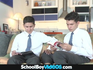 Naughty School Small Boy Scenes – Hot Latin Lad Fucked By Hot Twink Big Dick