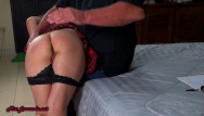 Girl spanks guy Bad girl spanked gets bj joi misslawanda