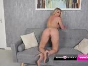 Babestation MILF Danielle Maye rubs her pussy