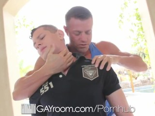 GAYROOM Muscle guys suck and fuck