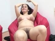 PREGNANT Daniela shows her fucking skills