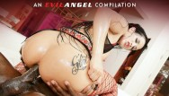 Angel girls fuck Bbc ass fucking compilation part ii - evil angel