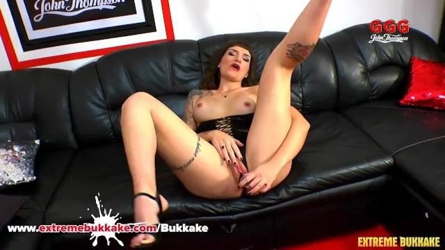Adreena's Casting Tape Masturbation