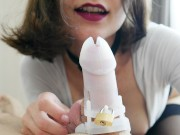 He Locked In Chastity for the First Time.Mary Cherry