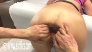 Fucking girl in the ass Hot girl double fist fucked in her greedy gaping ass till its a prolapsing wreck