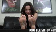 Stilleto foot fetish Pov foot massage and femdom feet worshiping porn