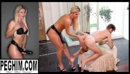 Milf usig toys Natural milf india summer uses giant toys to stretch and fuck his asshole gaped huge