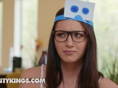 Realitykings - Humungous Hooter Bella Rolland Gets Pulverized In High Socks And Glasses