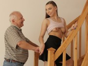 DADDY4K. Colleen is tired of sex with BF so why decides to try his dad