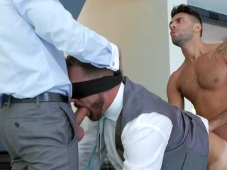Protect and Serve! Diego Fulfils His Duties and Bangs His Boss!