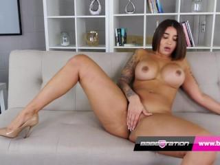 'Babestation UK Indian girl Priya has a big booty'