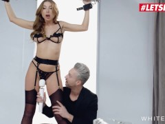 White Boxxx - Marilyn Crystal Super-fucking-hot Ukrainian Stunner Corded Up And Romped In Super-naughty Bondage & Discipline Session