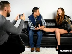 Maria Marley Assfucking Bangs A Knob With Her Feet! Sweet!
