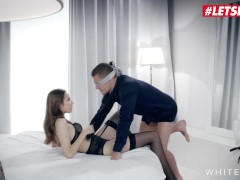 White Boxxx - Jessica Portman Smallish Orbs Youthful Russian Female Romantic Sensuous Sex