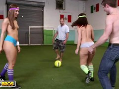 Bangbros - Thick Arse Milky Damsels Remy La Croix And Jada Stevens In A Joy Lil Orgy