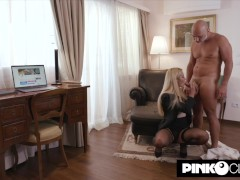 Christian Clay Makes Virgin Smooch Enormous Bust With His Enormous Man Meat Then Sodomizes Her