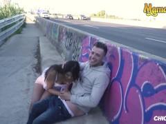 Chicas Loca - Petite Peruvian Stunner Risky Public Romp With Her Ultra-kinky Boyfriend