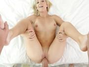 PUREMATURE Blonde Milf Rides MUCH NEEDED Dick