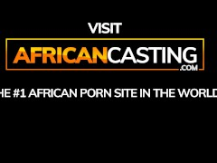 Buttplug Hook-up On African Assfuck Casting