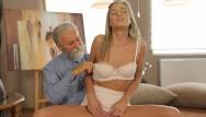 Straight beard sex Old4k. shanie has a crush on her grey-bearded geography teacher