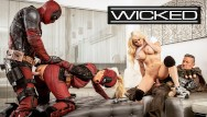 Cumshot tgp movie Wicked - deadpool finally gets off in his porn movie