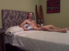 Active Duty - Experienced Hunk Walks Amateur Through His First MM Scene