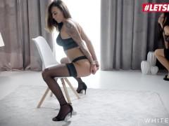 White Boxxx - Little Caprice & Vanessa Decker Hot Kinky Czech Lesbians Intense Girl On Girl Sex