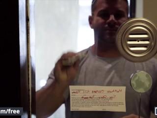 Mencom – Jackson Cooper Eats & Fucks Mason Max's Ass Raw In Pool