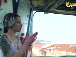 Chicas Loca - Mey Madness Young Spanish Babe Risky Public Fuck With Big Dick Boyfriend