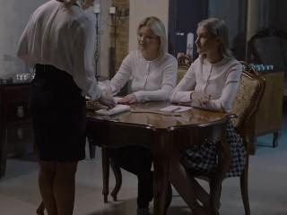 Unga lesbiska nunnor