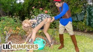 Lawn mowers ransomes vintage Lil humpers - sexy babe joslyn james lawn gnome comes to life