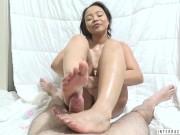 Big ass ebony Adriana Maya chokes on dick