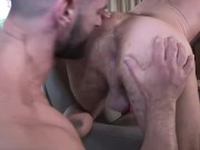 2 Hot Daddies Raw Fucking at Work