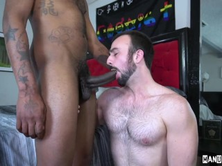 Mason Lear Unloads Massive Cumshot on August's Balls