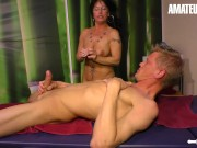 HausfrauFicken - Big Tits German Mature Cheats On Husband With His Friend - AMATEUREURO