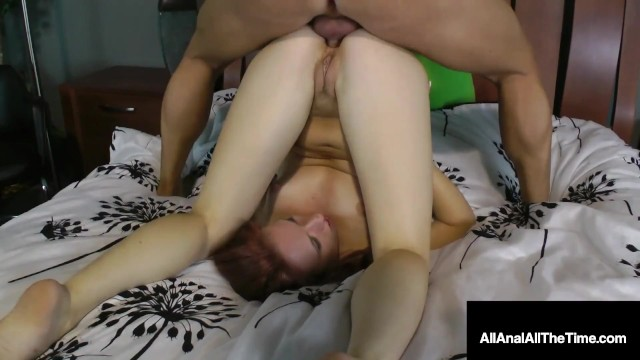 Sweet Redheaded Cutie Sofie Carter Gets A Hard Dick In Her Little Butthole!
