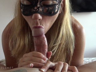 blowjob with love, cumshot in the mouth 4k