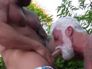 Real Married Daddies Bareback Fuck and Breed Each Other