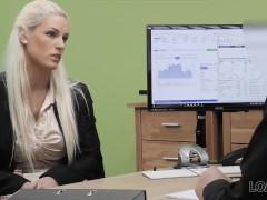 LOAN4K. Voluptuous hottie needs loan to open her new business