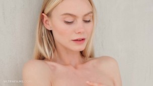 ULTRAFILMS Nancy Ace a hot blonde with blue eyes and always wet pussy.