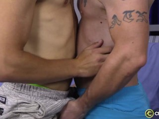 Jake Ducati and Ransom Stroke and Blow Each Other – ChaosMen