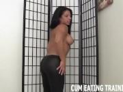 CEI Femdom Fetish And POV Cum Eating Instruction Videos