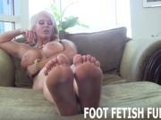 POV Foot Fetish And Femdom Feet Worshiping Porn