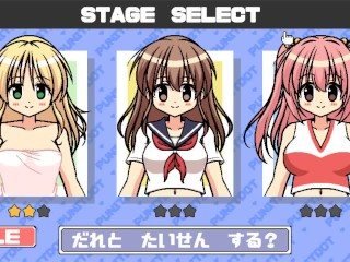 PunitDot [Hentai pixel game] Ep1 save japan from kawai giant girl with huge boobs !