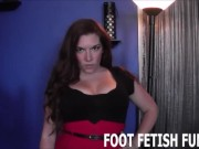 POV Foot Fetish And Femdom Humiliation Porn