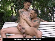 Latin Guy With Tattoos Rammed On Cam For Money