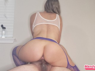 I ride his cock to a nice big finish