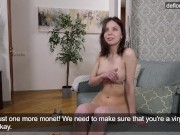 Ira Pizdunka from Russia first time on camera naked