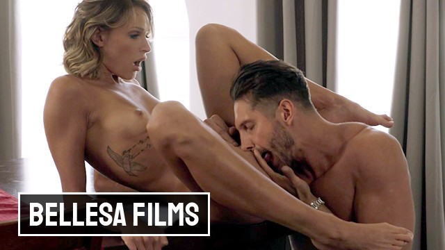 Bellesa - Blonde Babe Emma Hix Loves Pussy Licking & Hardcore Sex
