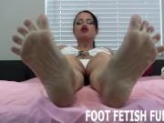 Femdom Feet Porn And POV Foot Worshiping